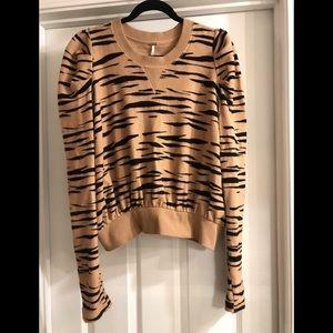 Free people Tiger stripe sweater
